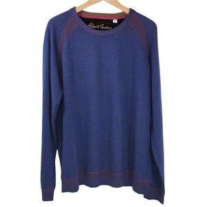 Robert Graham Men's Wool Sweater Pullover 2XL